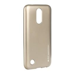 LG K10 2017 Mercury i-Jelly Silicone Gold