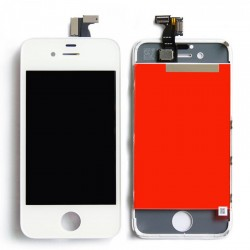 Apple iPhone 4S Lcd+Touch Screen white GRADE A
