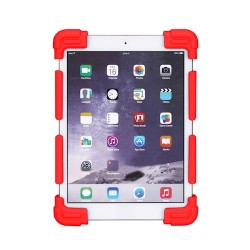 7-8'' Universal Silicone Case For Tablet red