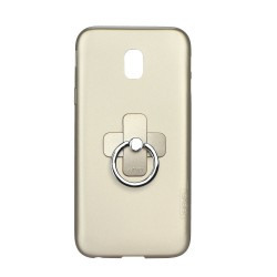 Samsung Galaxy J7 2017 XLEVEL Jelly 2 Silicone gold