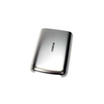 Nokia C6-01 BatteryCover silver ORIGINAL