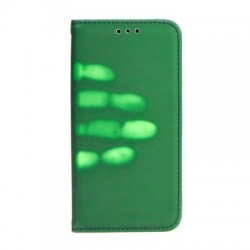 Apple iPhone 8 Plus/iPhone 7 Plus Thermo Book Case Green