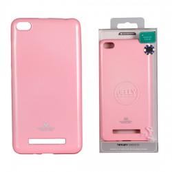Xiaomi Redmi 4A Mercury Jelly Silicone Light Pink