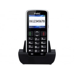 "Fysic FM-7950GPS 1,8"" Gsm GPS Phone with Dock Black (Ελληνικό Μενού)"
