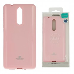 Nokia 8 Mercury Jelly Silicone Light Pink