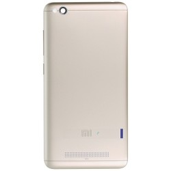 Xiaomi Redmi 4A BatteryCover Gold with Side Keys ORIGINAL