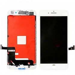 Apple iPhone 8 Plus Lcd+Touch Screen White HQ