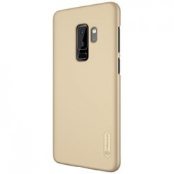 Samsung Galaxy S9 Nillkin Super Frosted Back Cover Gold
