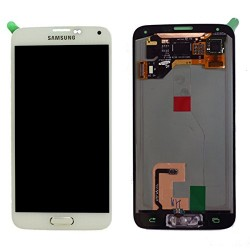 Samsung Galaxy S5 Lcd+Touch Screen White ORIGINAL