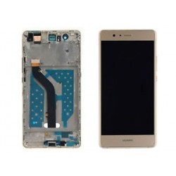 Huawei P9 Lite Lcd+Touch Screen+Frame Gold ORIGINAL