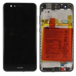 Huawei P10 Lite Lcd+Touch Screen+Frame+Battery Black ORIGINAL