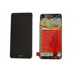 Huawei P Smart Lcd+Touch Screen+Frame+Battery Black ORIGINAL