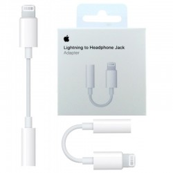 Apple iPhone 7 EarPods Headset Adapter Lightning to AUX ORIGINAL
