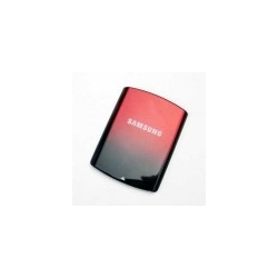Samsung S5200 BatteryCover black-red HQ
