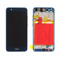 Huawei P10 Lite Lcd+Touch Screen+Frame+Battery Blue ORIGINAL