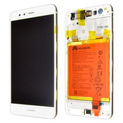 Huawei P10 Lite Lcd+Touch Screen+Frame+Battery White ORIGINAL