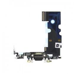 Apple iPhone 8 Lightning/Audio Dock Connector+Microfone black ORIGINAL