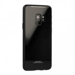 Huawei Y6 2018 Glass Case Silicone Black