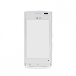 Nokia 500 FrontCover+Touch Screen white ORIGINAL