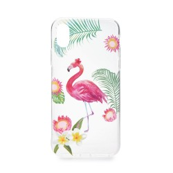 Apple iPhone 8 Plus/iPhone 7 Plus Summer Flamingo Silicone