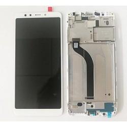 Xiaomi Redmi 5 Lcd+Touch Screen+Frame White GRADE A
