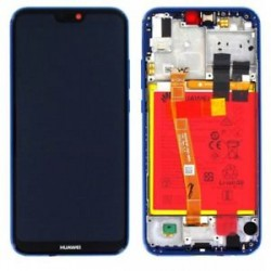 Huawei P20 Lite Lcd+Touch Screen+Frame+Battery Blue ORIGINAL