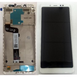 Xiaomi Redmi Note 5 Lcd+Touch Screen+Frame White GRADE A