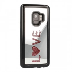 Samsung Galaxy S9 Vennus Mirror Water Glass Case Love