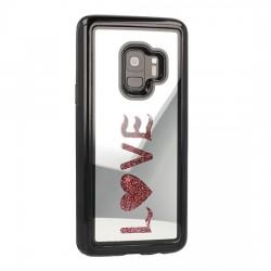 Samsung Galaxy S9 Plus Vennus Mirror Water Glass Case Love