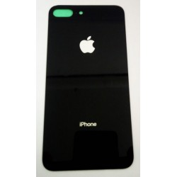 Apple iPhone 8 Plus BackCover Black HQ