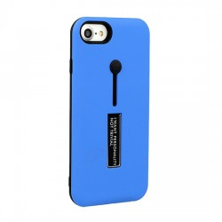 Samsung Galaxy A6 2018 Vennus Ring Finger Stand Cover Blue