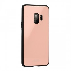 Huawei Y6 2018 Glass Silicone Pink