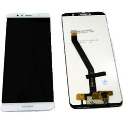 Huawei Y6 2018 Lcd+Touch Screen w/o Frame White GRADE A