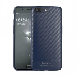 Apple iPhone X/XS Ipaky Carbon Silicone Case Blue