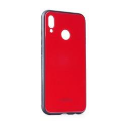Samsung Galaxy J6 Plus Testa Glass Silicone Red