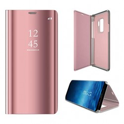 Huawei P20 Clear View Book Case Rose Gold