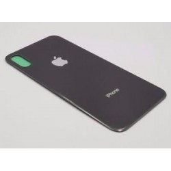 Apple iPhone X BackCover Black HQ