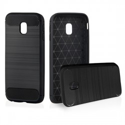Samsung Galaxy A8 2018 Testa Carbon Silicone Black