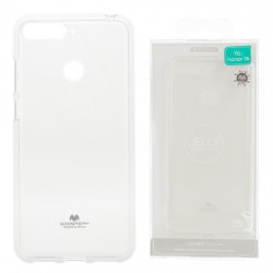 Huawei Y7 Prime 2018 Mercury Jelly Silicone Transparent