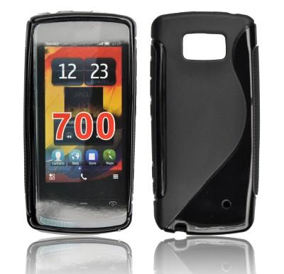 Silicone S-Line Nokia Lumia 700 black