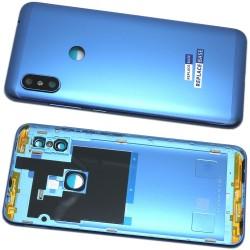 Xiaomi Redmi Note 6 Pro BatteryCover w/o Camera Lens Blue ORIGINAL