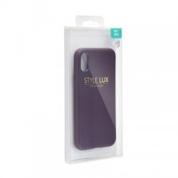 Apple iPhone XR Mercury Style Lux Silicone purple