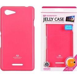 Sony Xperia E3 Mercury Jelly Silicone pink