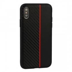 Samsung Galaxy S10e Testa Moto Silicone Black/Red