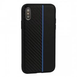 Samsung Galaxy S10e Testa Moto Silicone Black/Blue