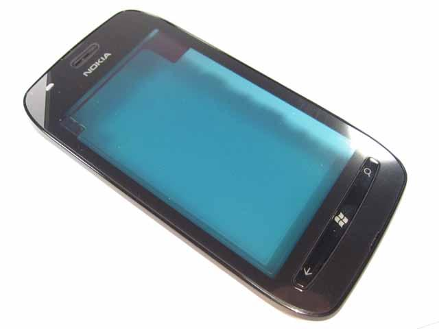 Nokia 710 Lumia FrontCover+Touch Screen black ORIGINAL
