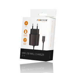 Mini Usb Travel Charger 2.1A Forever