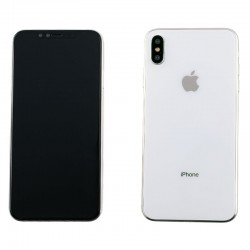 Apple iPhone XS Max BackCover + Camera Lens White GRADE A
