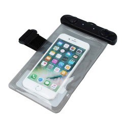 "5,5"" Waterproof Case with Armband black"