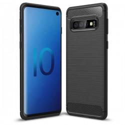 Huawei P Smart 2019 Testa Carbon Silicone Black